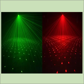 American DJ Galaxian 3D Laser Effect light